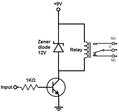 Relay Driver Circuit Electronics Circuit Electronic Circuit Projects Relay