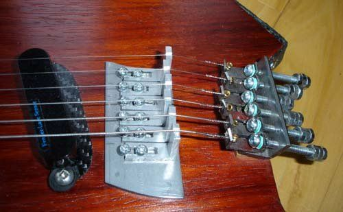 A Diy Headless Guitar Tuning System Guitar Diy Guitar Tuning