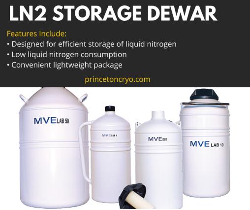 Liquid Nitrogen Storage Dewars At Princeton Cryo Princetoncryo Com Offers Several Different Types Of Cryogenic Stor Liquid Nitrogen Cryogenic Storage Dewar S
