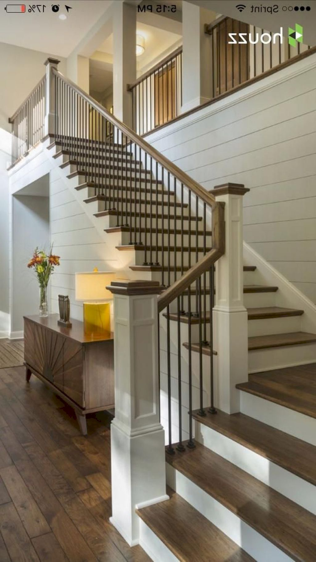 Staircase Railing242 - Home to Z #staircaserailings