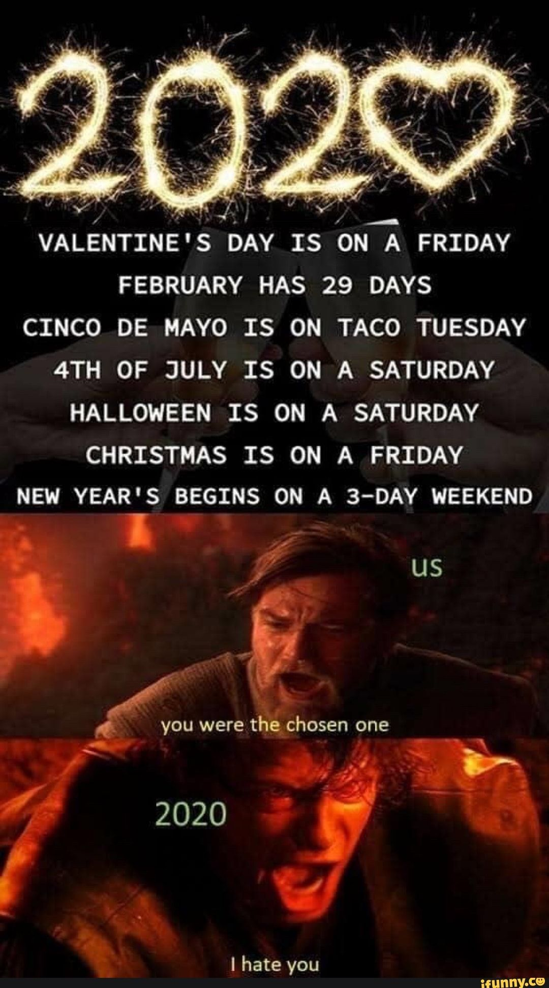Valentine S Day Is On A Friday February Has 29 Days Cinco De Mayo Is On Taco Tuesday 4th Of July Is On A Saturday Halloween Is On A Saturday Christmas Is On