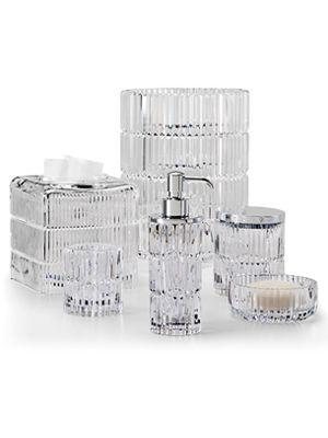 Prisma Clear Vanity Set Bathroom Accessories Design