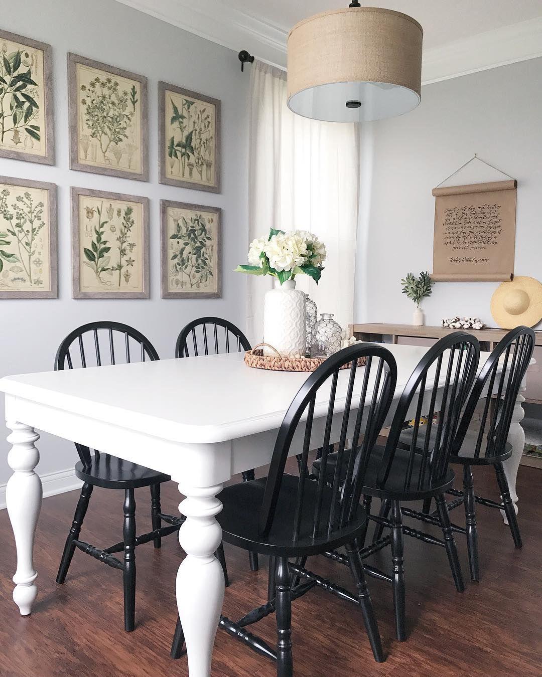 coastal farmhouse dining room lionandlantern on instagram rh pinterest com