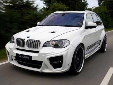 Her ability to leave other cars in the dust is due to the gift of 725 horsepower and a sprint speed that goes from 0-60 in 4.2 seconds.  Not bad for an SUV.  The BMW X5 MG-Power Typhoon can become part of your family for $420,000. http://www.elitetraveler.com/luxury-transport/the-10-most-expensive-bmws-ever-built/3