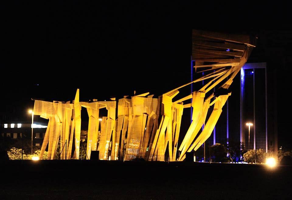 Monumento Aos Acorianos Em Porto Alegre Monumentos Brasil