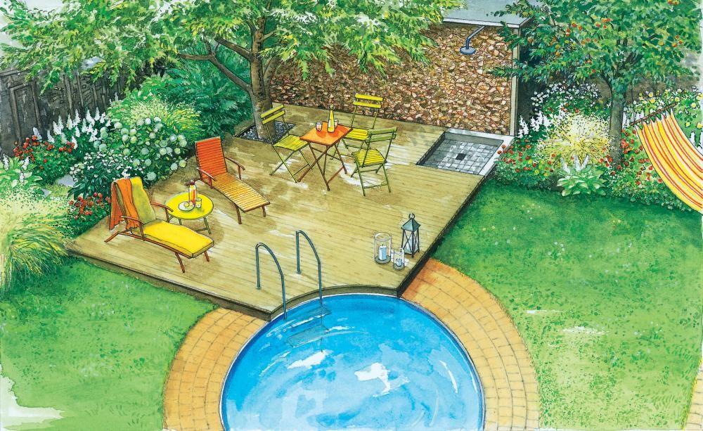 Ideen für einen fröhlichen Familiengarten Pflanzplan, neue Ideen - gartengestaltung neue ideen