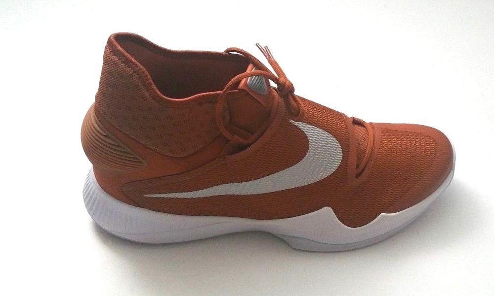 Orange basketball shoes, Nike men