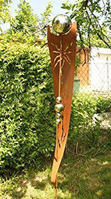rost garten gartendeko rost stecker rostsäulen mit 5, Garten ideen