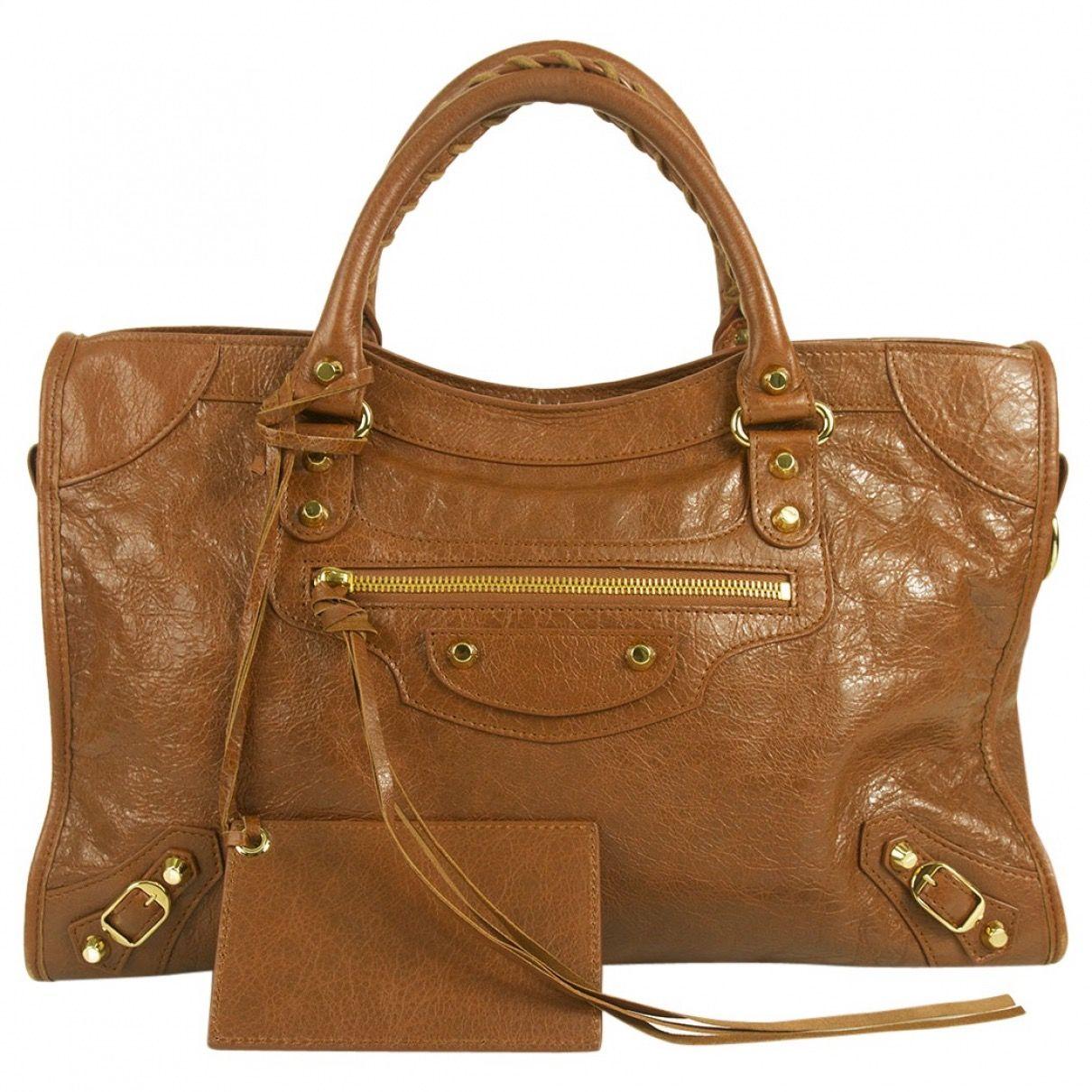 70322ae691784 Brown City Bag