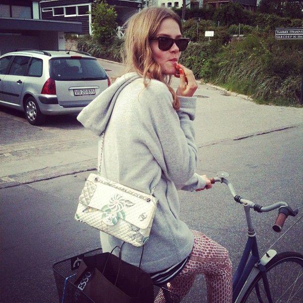 moodels101:    Caroline Brasch Nielsen.  So pretty, so cool <3