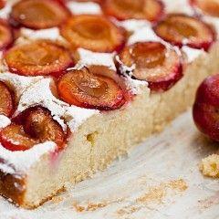 śmietankowe Ciasto Ze śliwkami Przepisy W 2019 Ciasta