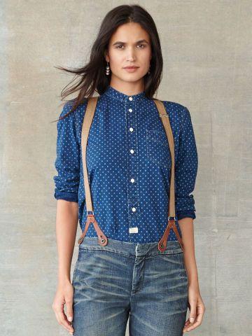 RRL Iron Ore Cotton Shirt - RRL Tops - Ralph Lauren UK