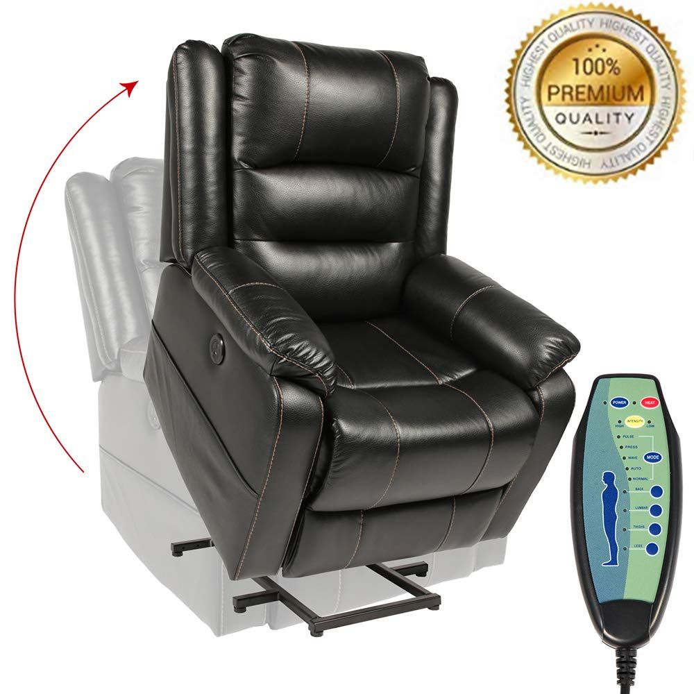 Piedle Electric Power Lift Recliner Chair Recliners For Elderly