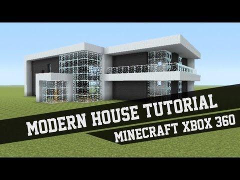 Large Modern House Tutorial Minecraft Xbox 360 1 YouTube