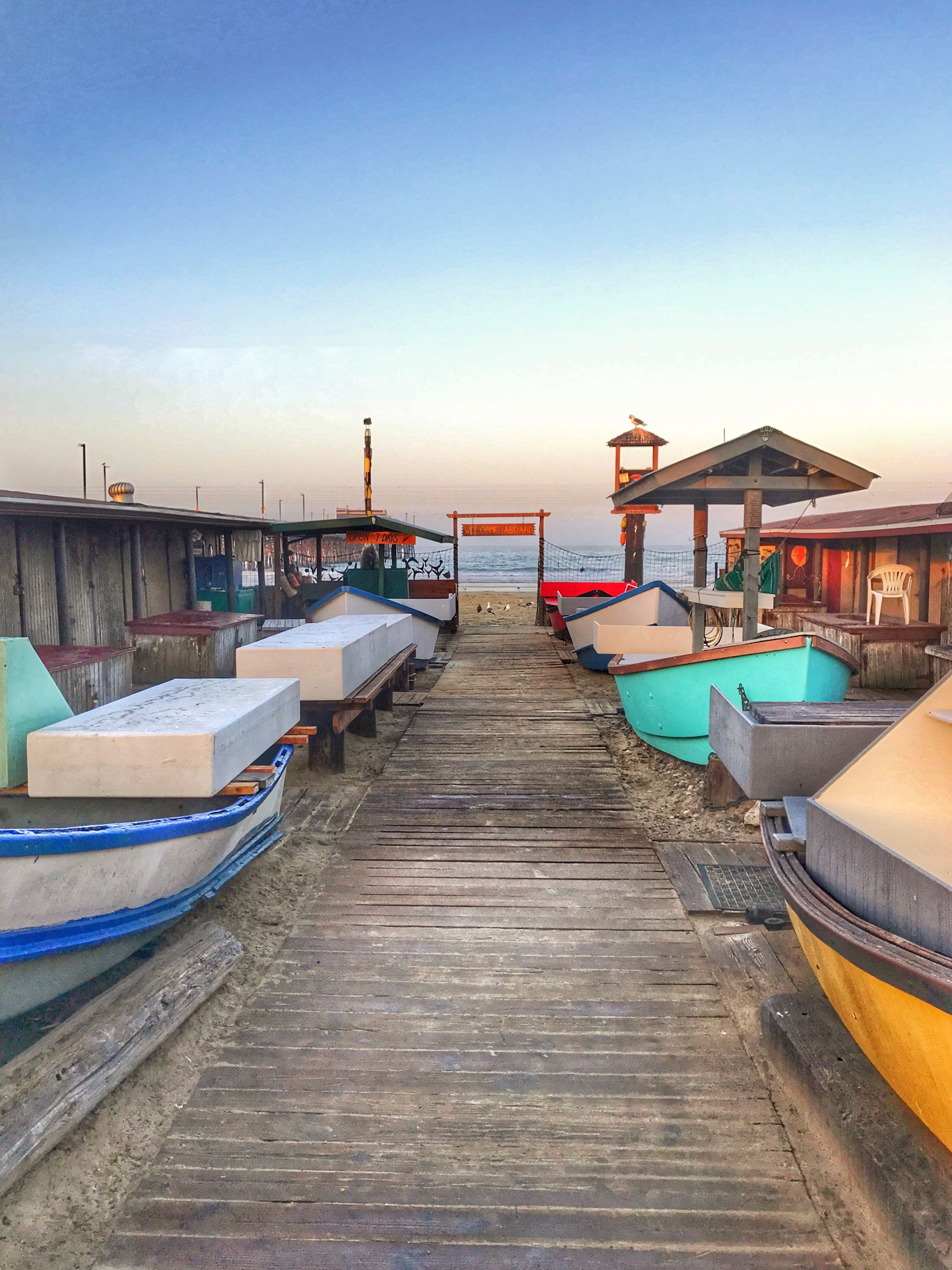 Since 1891 The Dory Fishing Fleet Market Has Been Located At Base Of