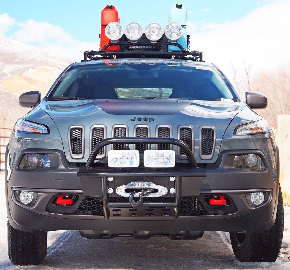 Jeep Cherokee Winch Bumper Kit Jeep Cherokee 2014 Jeep Cherokee