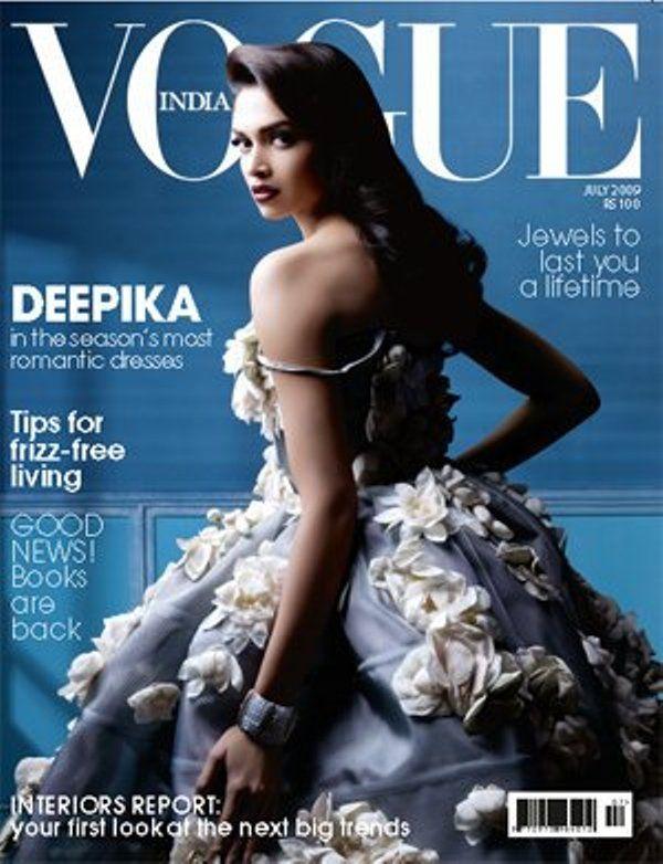Vogue India July 2009 - Deepika Padukone