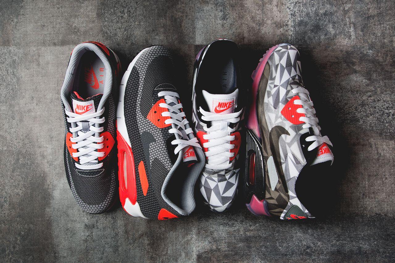 Nike Air Max Lunar 90 JCRD BlackBlueOrange #sneakers
