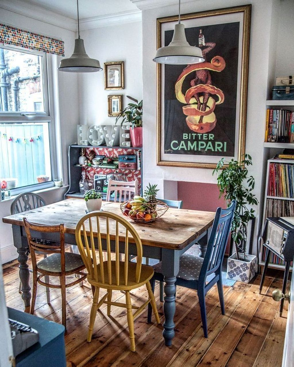 20+ Unordinary Dining Room Design Ideas With Bohemian