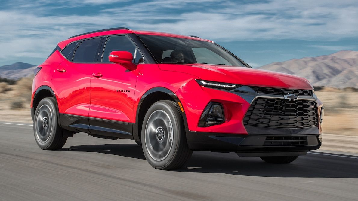 2019 Chevrolet Blazer Rs First Test The Camaro Of Crossovers Chevrolet Blazer Chevrolet Camaro