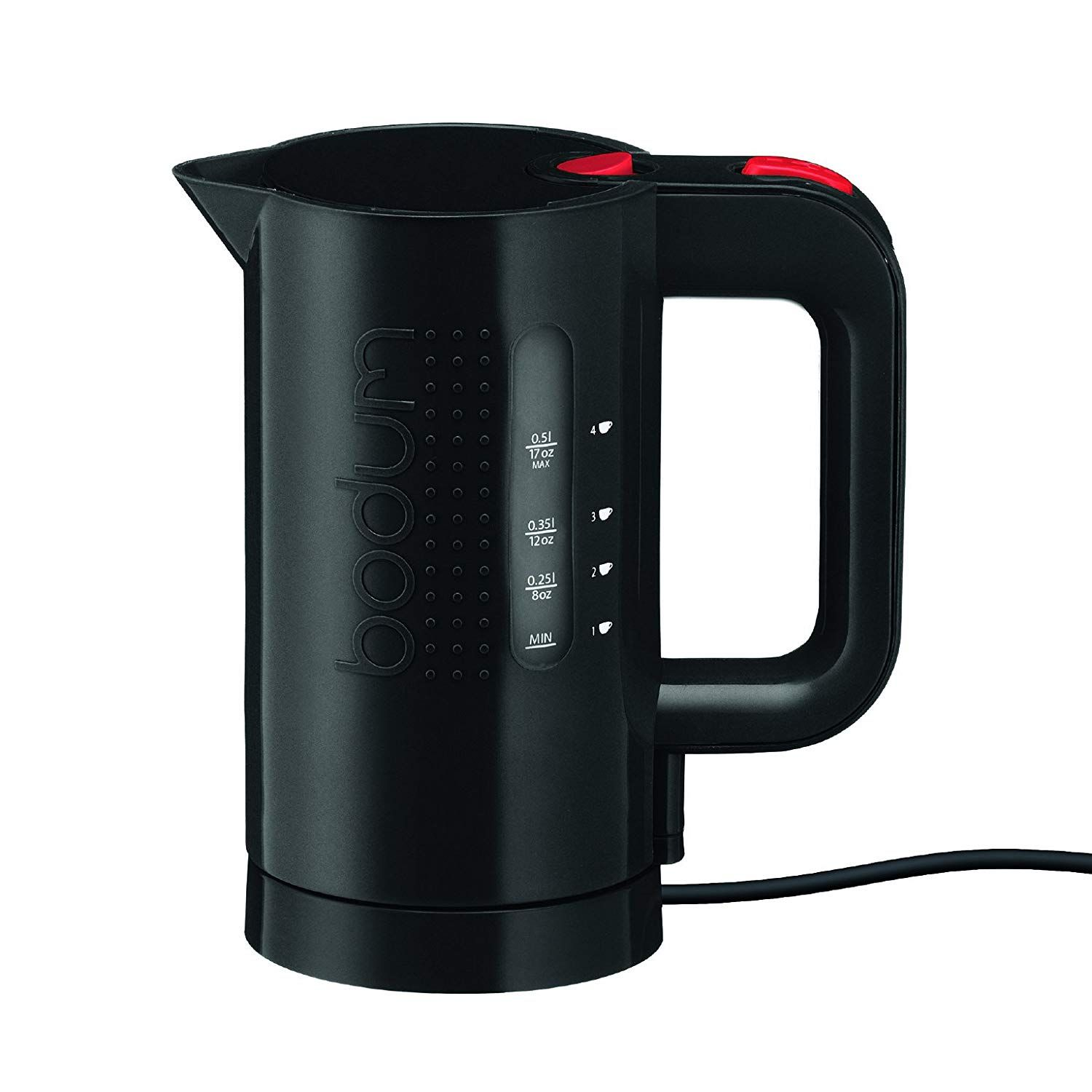 Bodum Bistro Electric Water Kettle, Plastic, 17 Ounce, .5