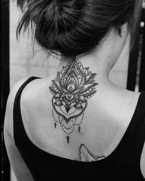 lous on back neck henna mehndi pinterest tattoo. Black Bedroom Furniture Sets. Home Design Ideas