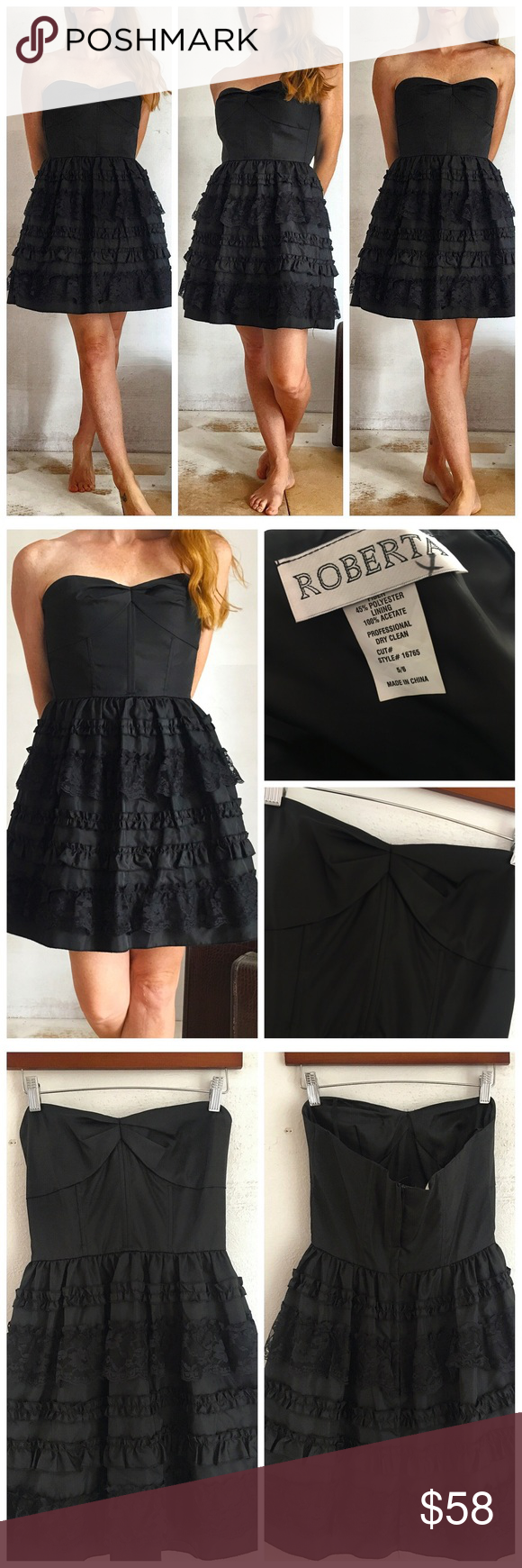 Vintage roberta party dress size xs in my posh closet