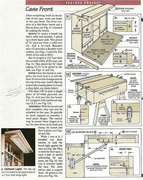 Pin by Mike Crist on Home Improvements | Garage workbench plans, Woodworking plan, Workbench plans
