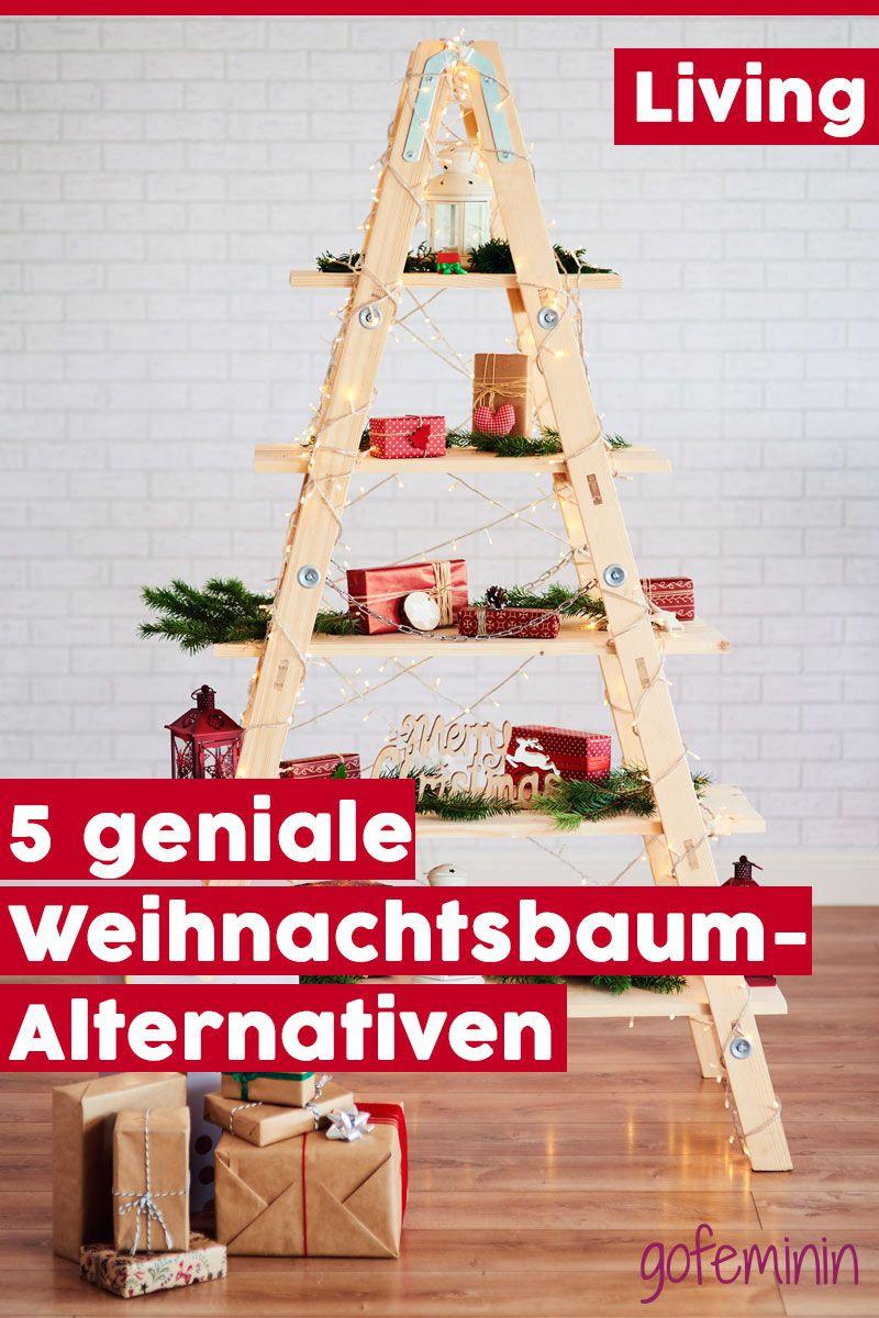 Nadelfrei UND nachhaltig: 5 geniale Weihnachtsbaum-Alternativen zum Selbermachen