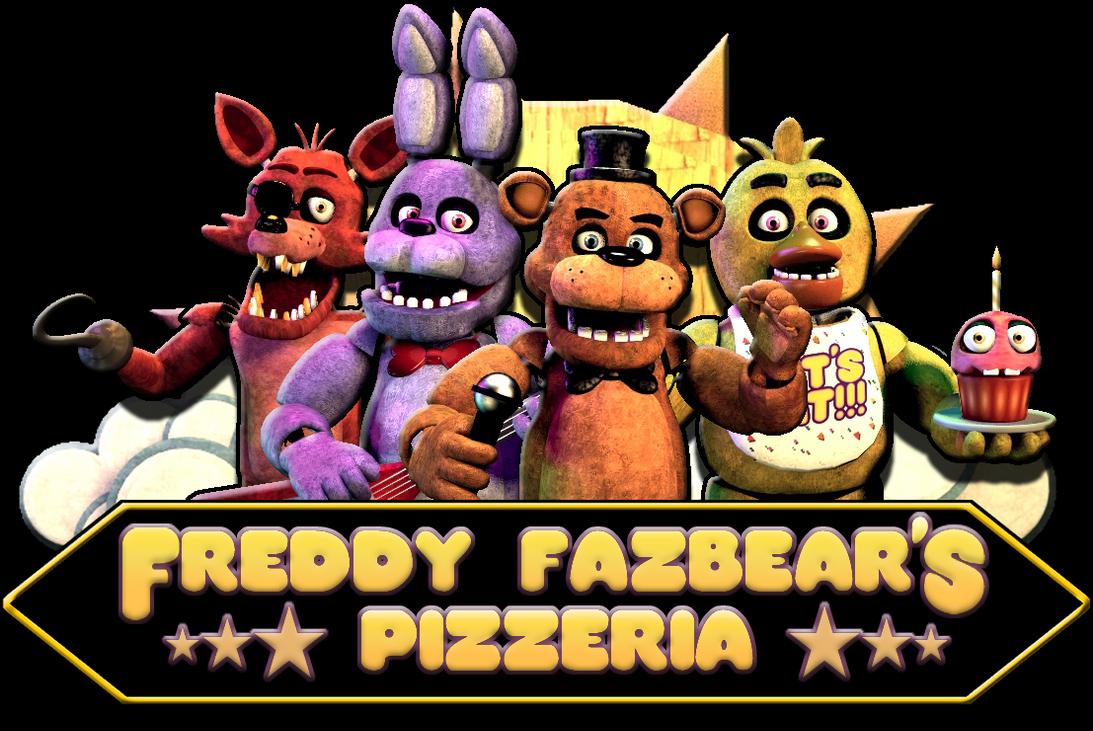 Freddy Fazbear S 1993 Logo By Cynfulentity On Deviantart Fnaf Dibujos Animatronicos Fnaf Dibujos De Foxy