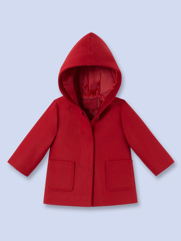 Hooded Coat by Jacadi at Gilt   Coat, Hooded coat, Girl coat