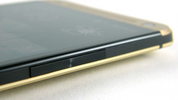 Gold HTC One side