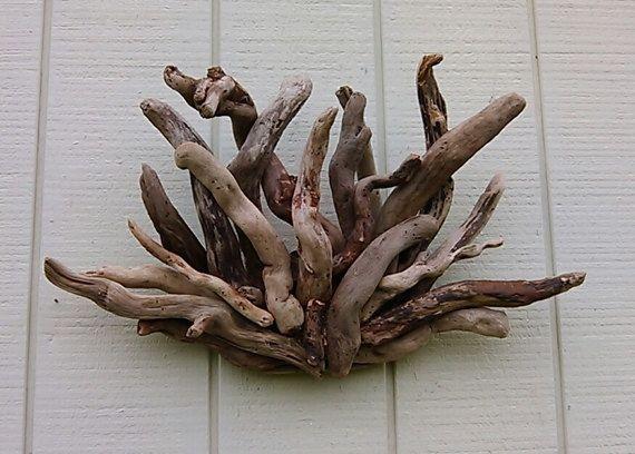 Driftwood Wall Sculpture Driftwood Art Wall By Burlgirlcreations