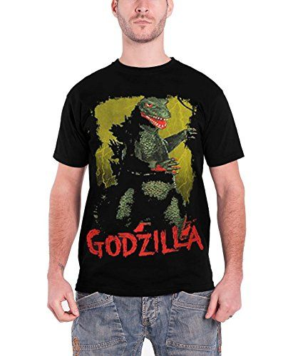 Plan 9 Godzilla Vintage Poster Official Mens New Black T Shirt All Sizes