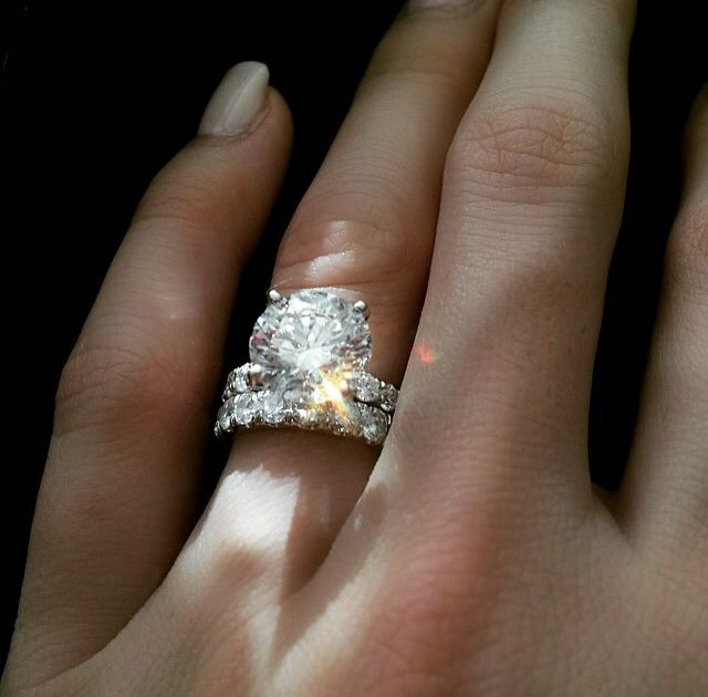 Pin By Pinthusiast On Jewelry Wedding Rings Round Wedding Rings Engagement Big Wedding Rings