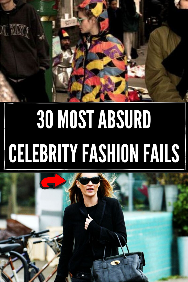 Photo of 30 most absurd celebrity fashion fails