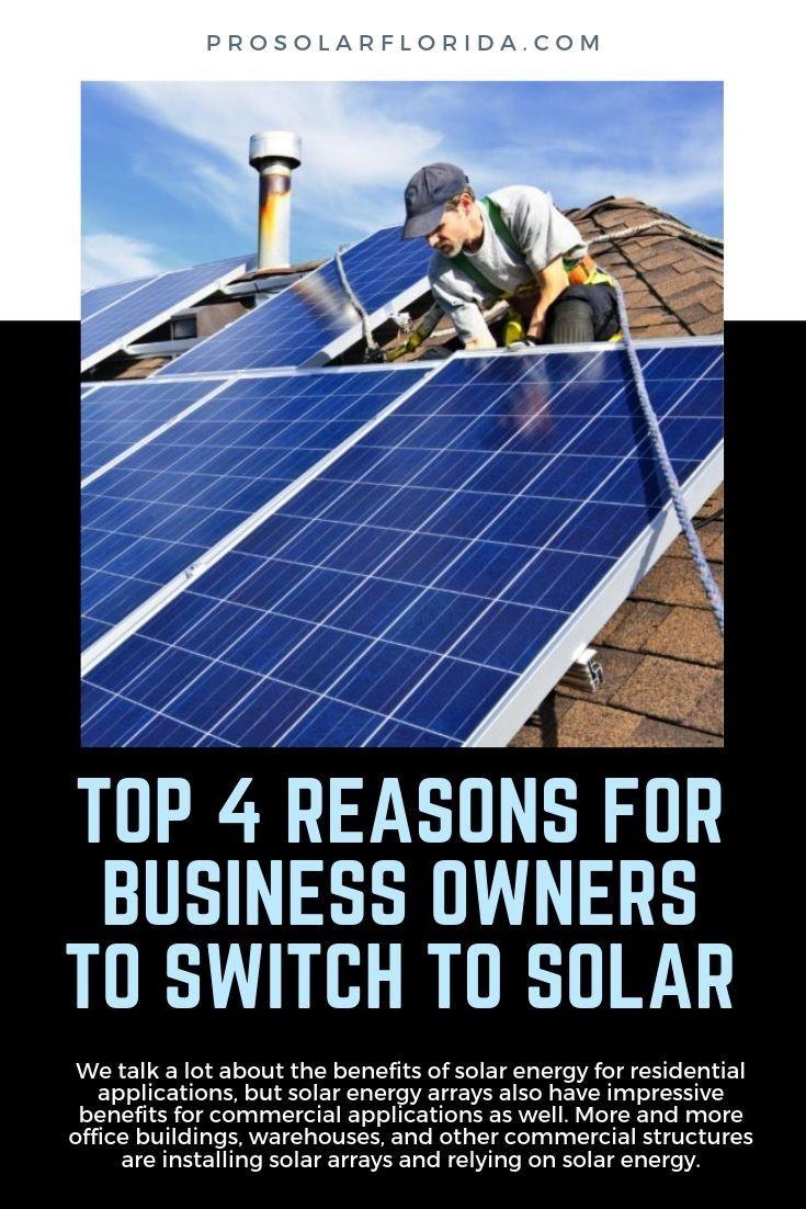 Prosolar Florida Residential And Commercial Solar Energy Systems Family And Consumer Science Solar Solar Energy