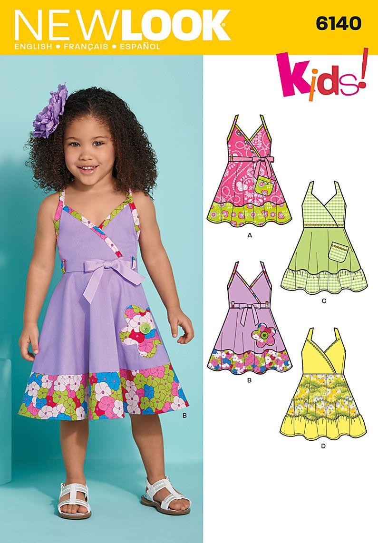 New Look Toddler Dress And Belt 6140 Crafts Pinterest Jolie Clothing Donita Jumpsuit Navy L