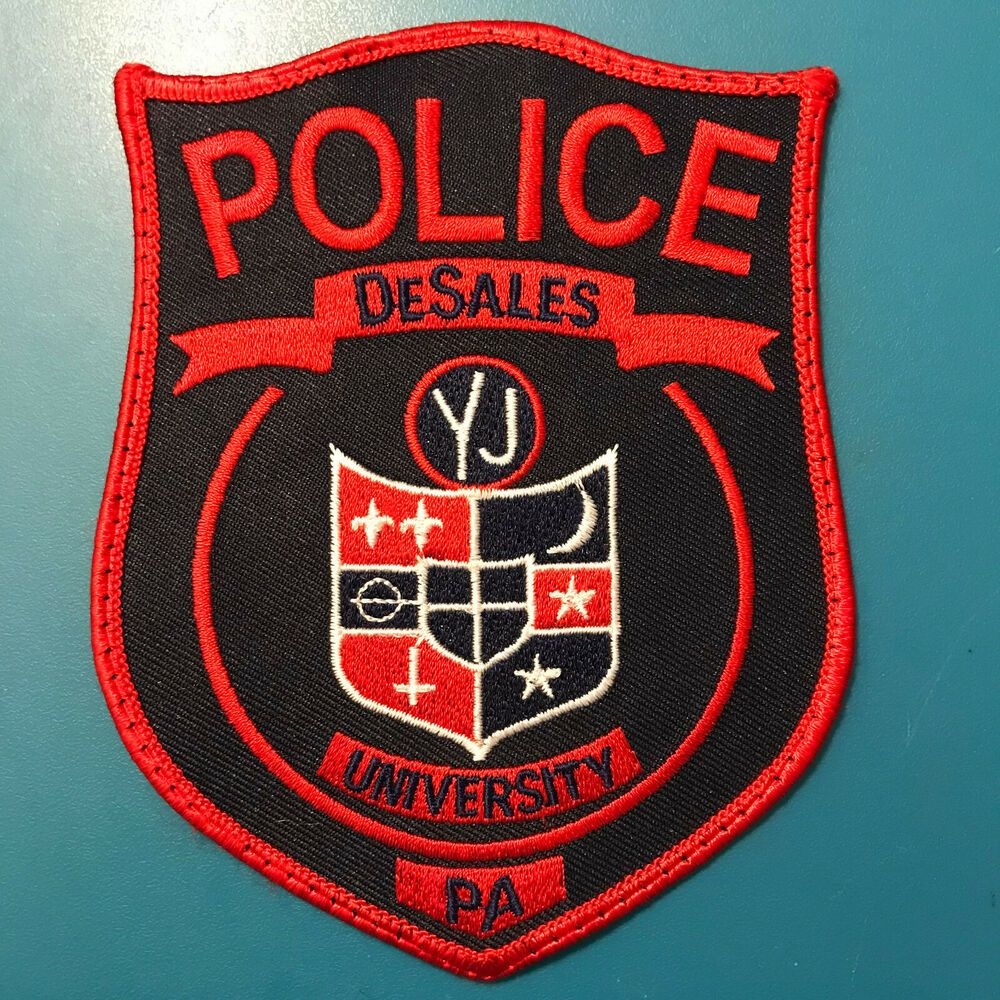 Desales University Police Center Valley Pennsylvania Patch Police Patches Patches For Sale