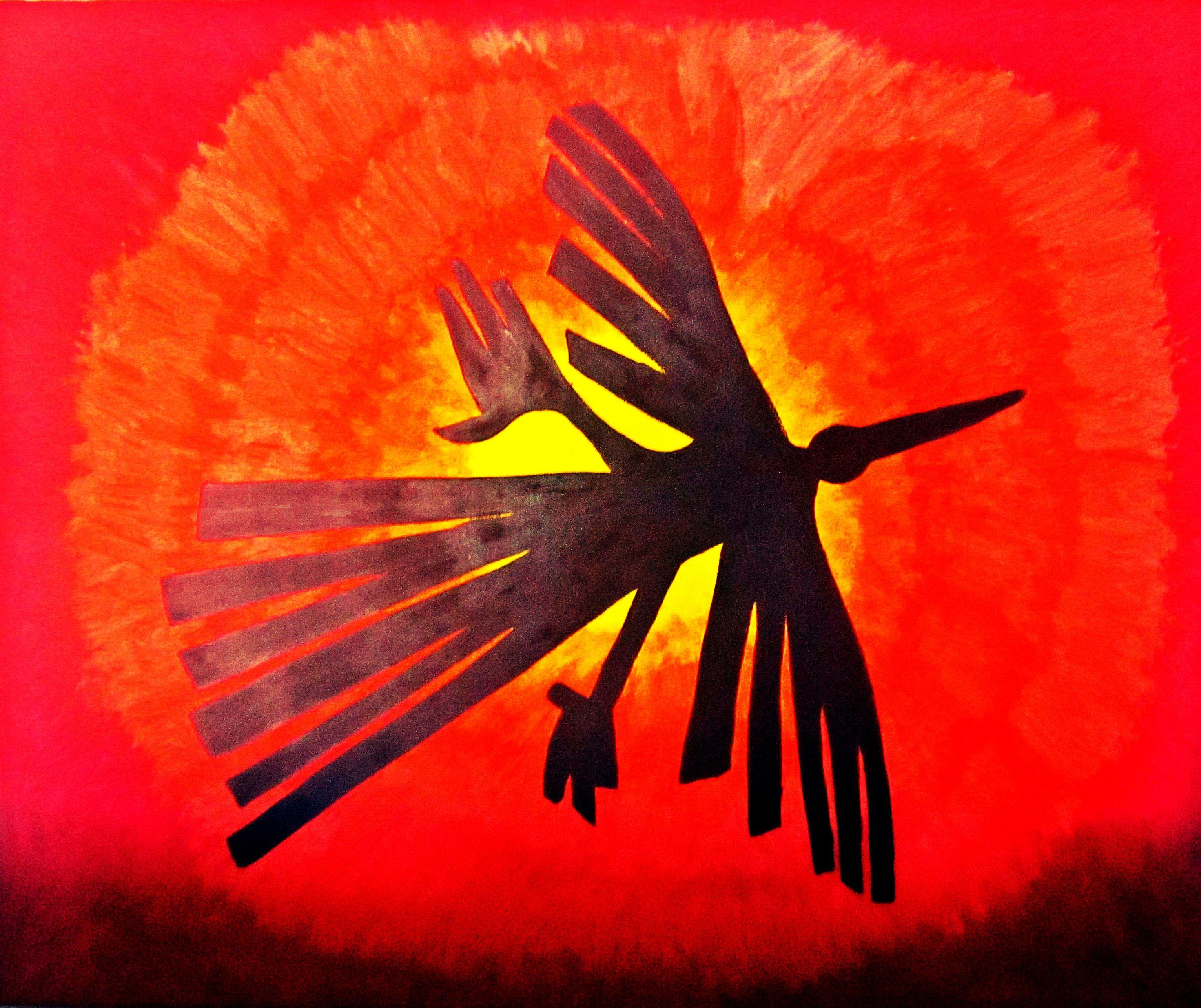 Lineas de nazca l neas de nazca pinterest lineas for Colores condor
