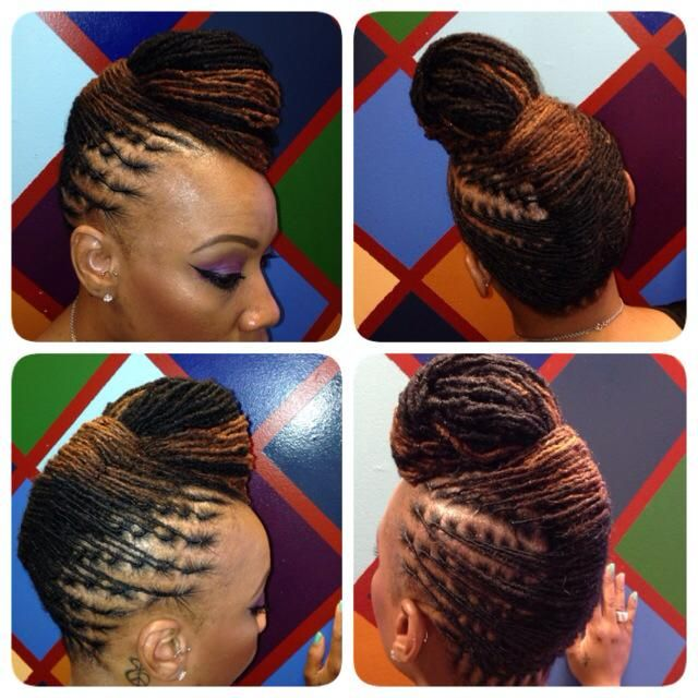 This updo is beyond FLY!