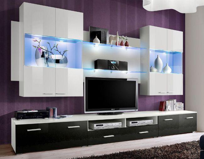 Meuble Tv Moderne Meubles Tv Design Meuble De Television Meuble Tv Meuble Tele Meuble Tv Mural Meuble Living Room Wall Units Tv Wall Unit