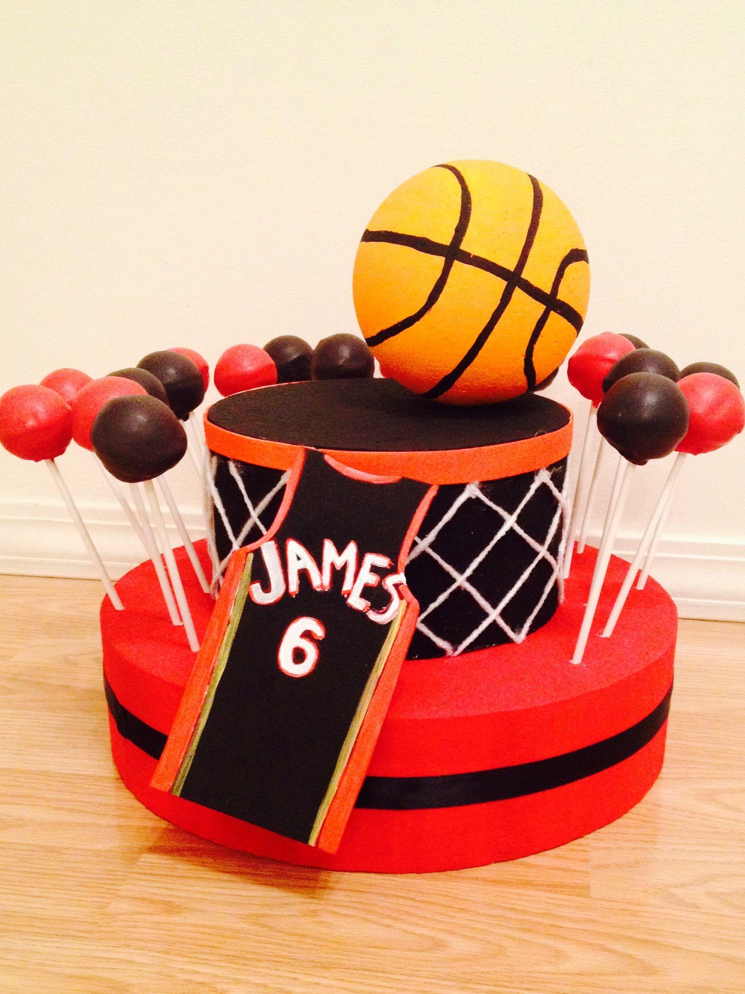 Lebron james cake pops by caitlyn caitpops nike