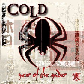 Cold Year Of The Spider Cold Band Stupid Girl Sticker Album