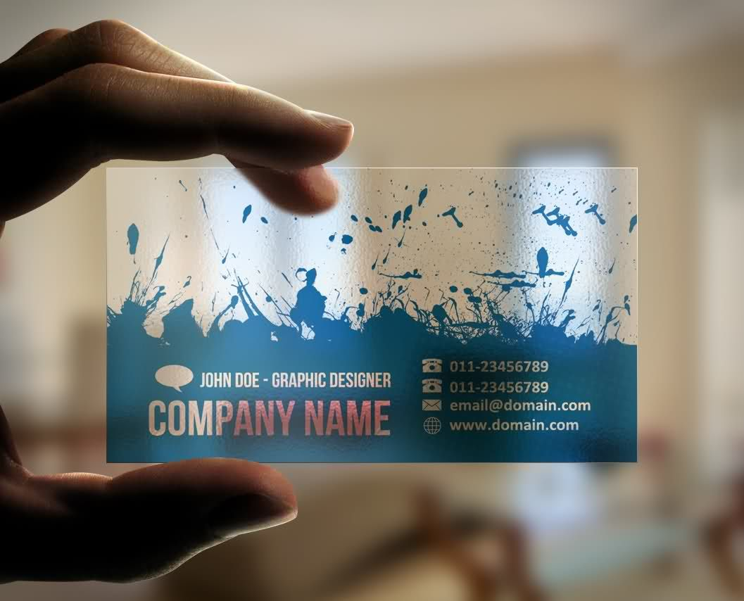 transparent business card | corporate stationary | Pinterest ...