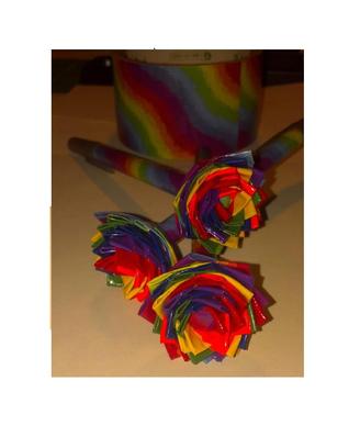 Colorful Duct Tape Flower Pen S Bmgm Http Www Outbid Com Auctions 11273 Fashion Bazaar 3 23 13 Insurance Auto Auction Car Auctions Auction
