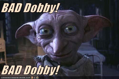 Ms Rose S Meme Dobby Harry Potter Harry Potter Diy Dobby Harry