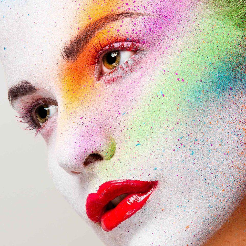 Skittles Taste the rainbow! Makeup ShowMe MakeUp Model