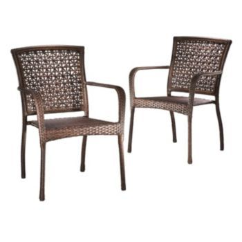 Sonoma Goods For Life 2 Pc Presidio Patio Bistro Chair