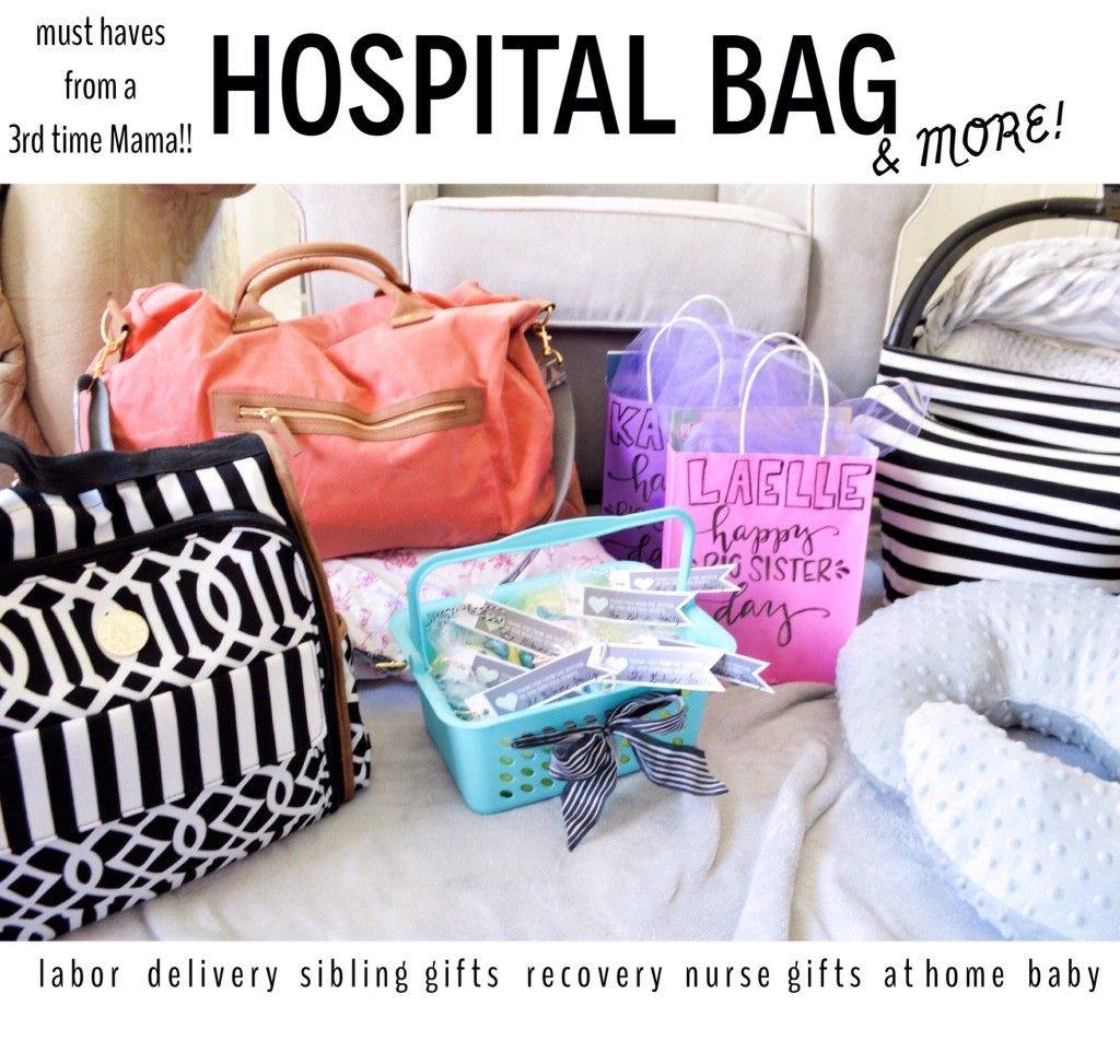 Great List!! Hospital Bag & Diaper Bag from a Mama of 3 ( plus ...